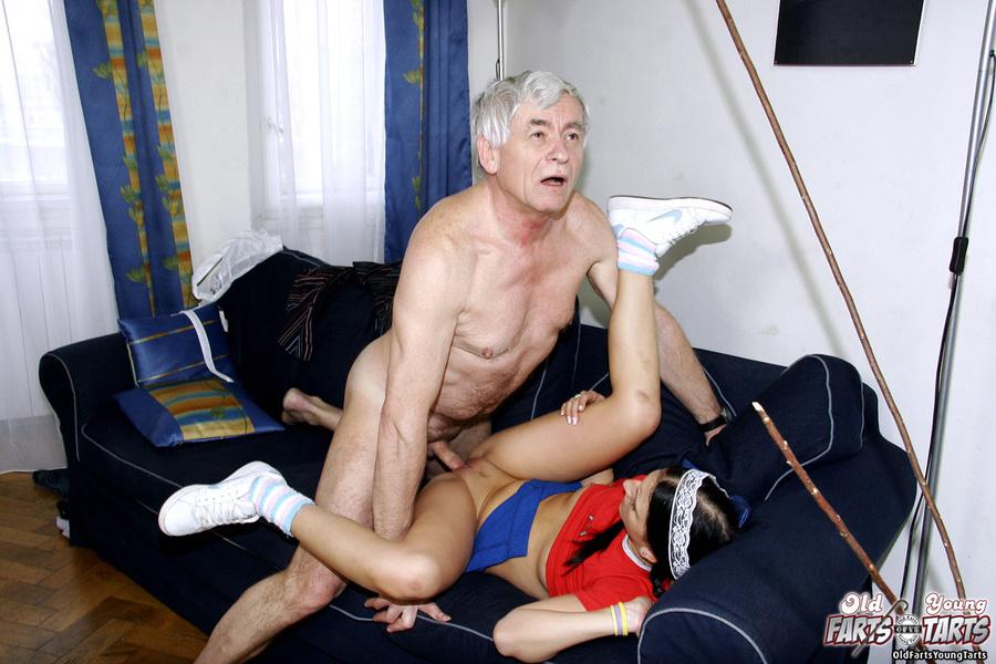Amateur Russian Teen Old Man