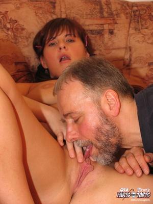 Hardcore sex. Senior takes advantage of  - XXX Dessert - Picture 7