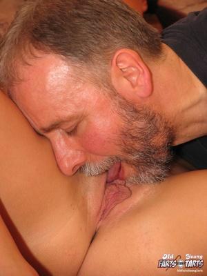 Hardcore sex. Senior takes advantage of  - XXX Dessert - Picture 8