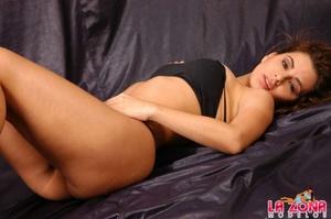 Latin hot. Sabrina strips down to her th - XXX Dessert - Picture 10