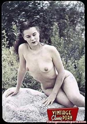 Hairy porn. Vintage fourties outdoor hot - XXX Dessert - Picture 2