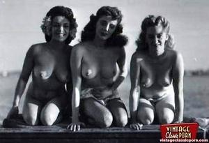 Hairy porn. Vintage fourties outdoor hot - XXX Dessert - Picture 7