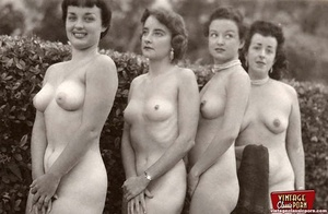 Hairy porn. Vintage fourties outdoor hot - XXX Dessert - Picture 10