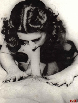 Vintage classic porn. Several sexy fifti - XXX Dessert - Picture 5