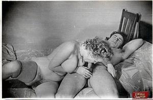 Vintage classic porn. Several sexy fifti - XXX Dessert - Picture 6