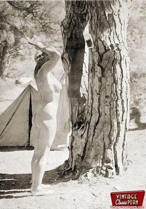 Hairy gallery. Vintage nudist going full - XXX Dessert - Picture 5