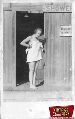 Hairy gallery. Vintage nudist going full - XXX Dessert - Picture 6