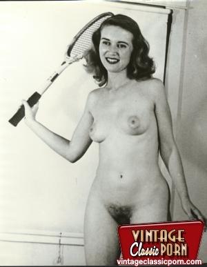 Hairy gallery. Vintage nudist going full - XXX Dessert - Picture 7