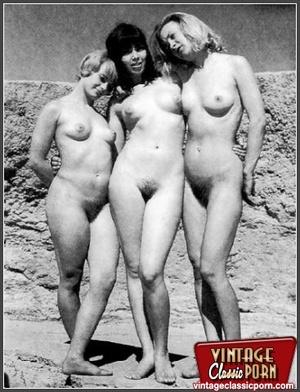 Hairy gallery. Vintage nudist going full - XXX Dessert - Picture 8
