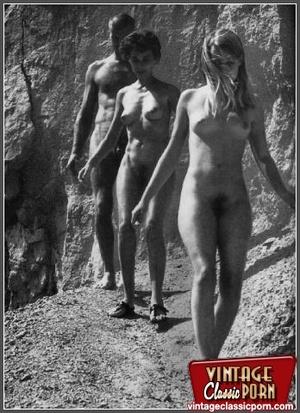 Hairy gallery. Vintage nudist going full - XXX Dessert - Picture 9