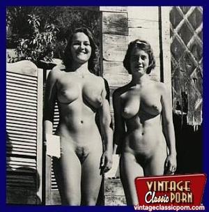 Hairy gallery. Vintage nudist going full - XXX Dessert - Picture 10