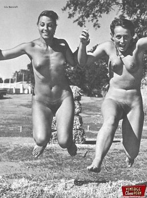 Hairy gallery. Vintage nudist going full - XXX Dessert - Picture 12