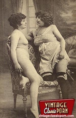 Vintage porn classic. Several ladies fro - XXX Dessert - Picture 6