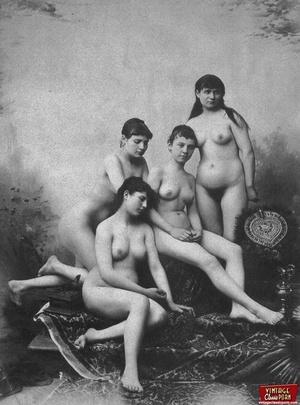 Vintage porn classic. Several ladies fro - XXX Dessert - Picture 7