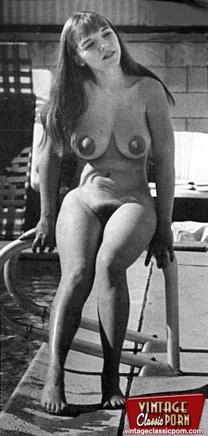 Vintage classic porn. Big boobed Michell - XXX Dessert - Picture 2