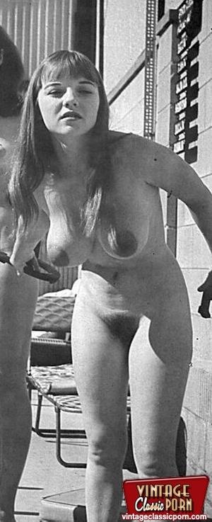 Vintage classic porn. Big boobed Michell - XXX Dessert - Picture 3