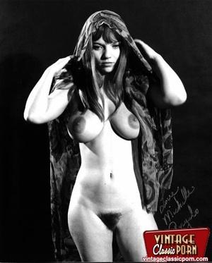 Vintage classic porn. Big boobed Michell - XXX Dessert - Picture 5