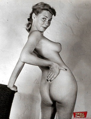 Perfect hairy pussy. Several fifties lad - XXX Dessert - Picture 4