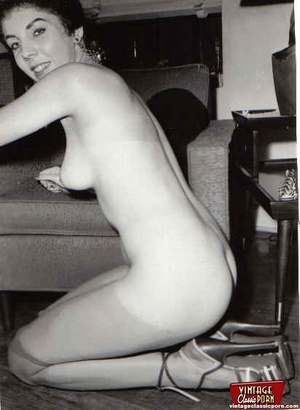 Perfect hairy pussy. Several fifties lad - XXX Dessert - Picture 6