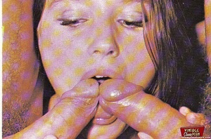 Hairy pussy. Several shots of seventies  - XXX Dessert - Picture 3