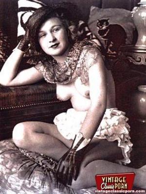 Porno hairy. Real vintage women with big - XXX Dessert - Picture 3