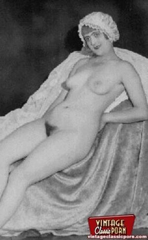 Porno hairy. Real vintage women with big - XXX Dessert - Picture 4