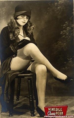 Porno hairy. Real vintage women with big - XXX Dessert - Picture 5