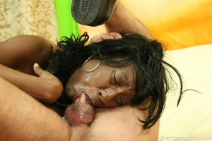 Hard fucked. Fucked black ho turned into - XXX Dessert - Picture 9
