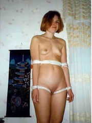 Bdsm porn. Tied up and fucked stupid. - Unique Bondage - Pic 6