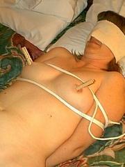 Slave porn. Amateur Tied 7 - Unique Bondage - Pic 5