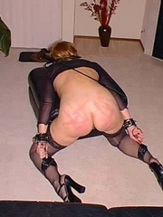 Bdsm xxx. Housewife made to pay for her - Unique Bondage - Pic 5