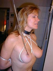Bdsm xxx. Housewife made to pay for her - Unique Bondage - Pic 7