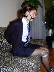 Bdsm sex. Schoolgirl bondage. - Unique Bondage - Pic 4
