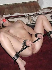 Bdsm xxx. Tits roped and chained. - Unique Bondage - Pic 6