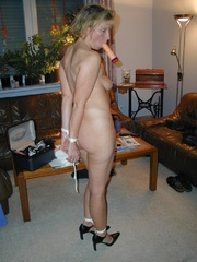 Bdsm porn. Mature bondage slut. - Unique Bondage - Pic 8
