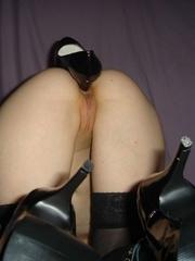 Bondage girls. Bound wife gets fucked. - Unique Bondage - Pic 10