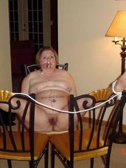Bondage sex. Busty girl gets bound and then - Unique Bondage - Pic 3