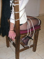 Bondage. Beauty gets bound to her chair. - Picture 10