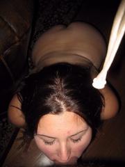 Bdsm girls. House wife tied blowjob. - Unique Bondage - Pic 10
