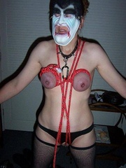Bondage. Ankles tied tits tied everything - Unique Bondage - Pic 9