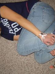 Bondage. Teens bondage practice. - Unique Bondage - Pic 6