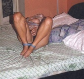 Bdsm sex. Wife needs to be tied.