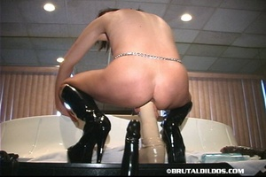 Sex fisting. Shiny White Ass To Mouth Br - XXX Dessert - Picture 9