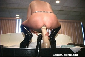 Sex fisting. Shiny White Ass To Mouth Br - XXX Dessert - Picture 11