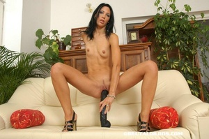 Sex fisting. Marty fucked by huge dildo. - XXX Dessert - Picture 5