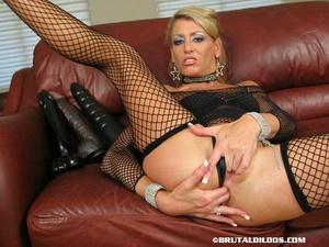 Sex toys porn. Chelsea stuffs her ass wi - XXX Dessert - Picture 1