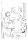 Sex slave comics. Very kinky and bizarre drawings.