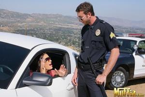 Large penis. Officer jordan stops roxy a - XXX Dessert - Picture 5