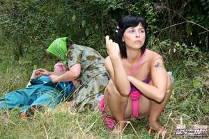 Old & young. Hot girl fucks an old s - XXX Dessert - Picture 6