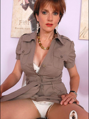 Sexy panty hose. Sonia shows off her legs. - Unique Bondage - Pic 3